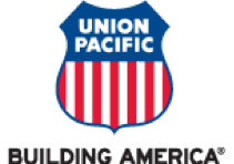 Union Pacific logo.